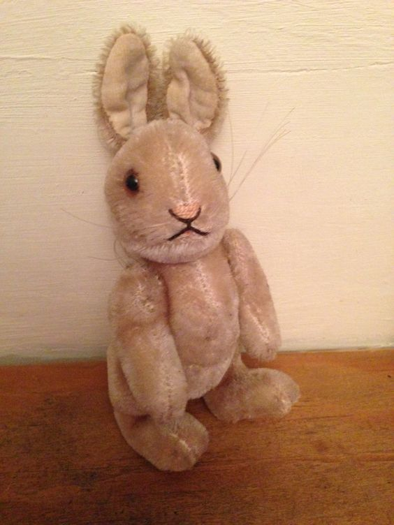 Steiff Knopf im Ohr rabbit 16cm Bought 1959