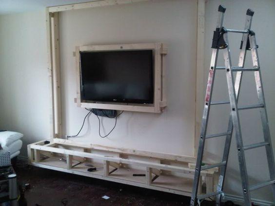 Diy Floating Wall Unit Idea