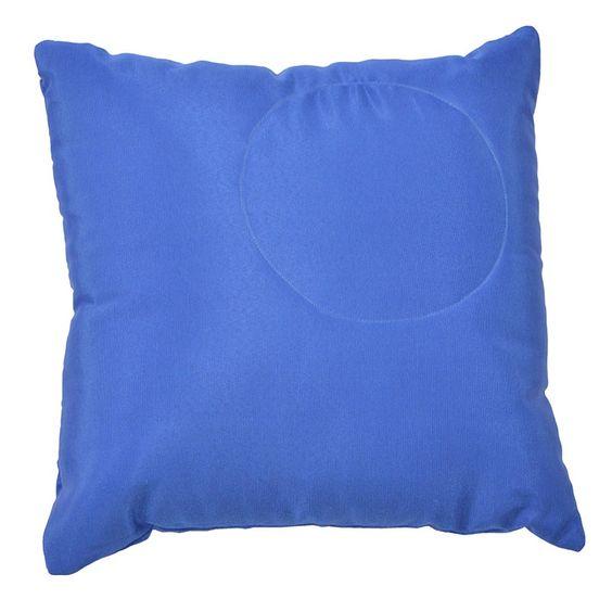 Almofada Infantil Gorgurim Azul 45x45, Almofada para crianças, Modelos de almofadas infantis, Almofadas infantis, Capa de almofada, Almofadas modelos
