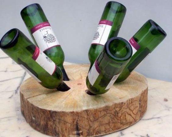 wine bottle holder: