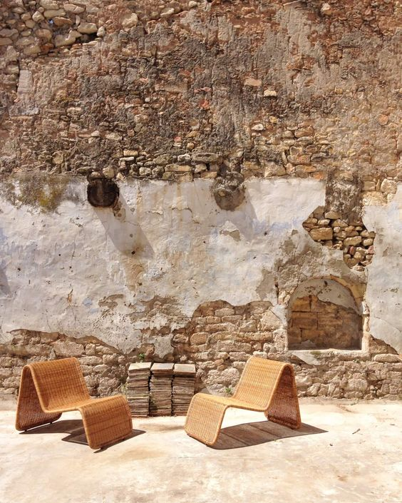 Fauteuil en osier et rotin, Tito Agnoli, Atelier Vime, http://ateliervime.com #provence #titoagnoli #rotin #osier #decor #outdoor #deco #decoration #ateliervime #provenceliving #design #midcentury #italy