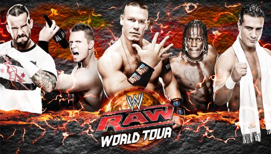 Energia Poliservice para o Raw Worl Tour Brasil! (clique na imagem para mais informações)