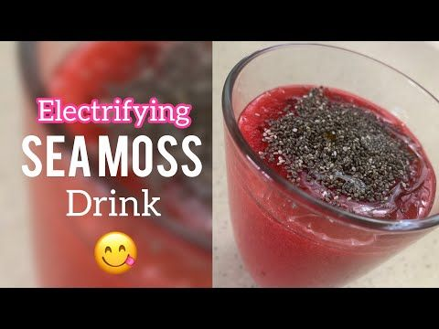 How To Prepare A Mineral Rich Sea Moss Drink With Sorrel Roselle Youtube Irish Moss Recipes Sea Moss Alkaline Diet Recipes