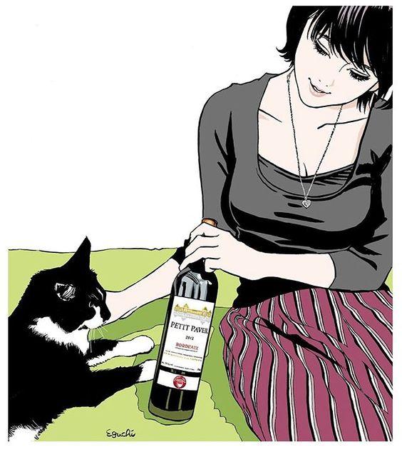 江口寿史の猫画像