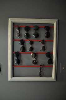sunglasses holder for home diy. Black Bedroom Furniture Sets. Home Design Ideas