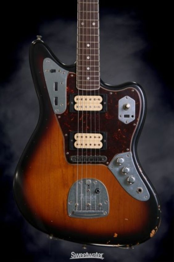 kurt cobain jaguar and fender jaguar on pinterest. Black Bedroom Furniture Sets. Home Design Ideas