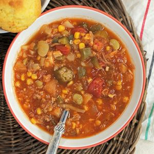 Best Slow-Cooker Soups and Stews | Easy Brunswick Stew | MyRecipes.com