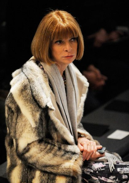 Anna Wintour Photos: Calvin Klein