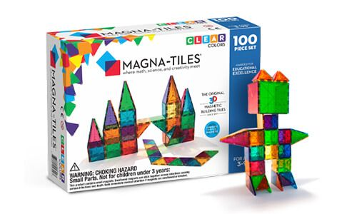 Magnetic Blocks To Fuse Math Science Creativity Magna Tiles In 2020 Magna Tiles Magnetic Building Toys Magnetic Building Tiles