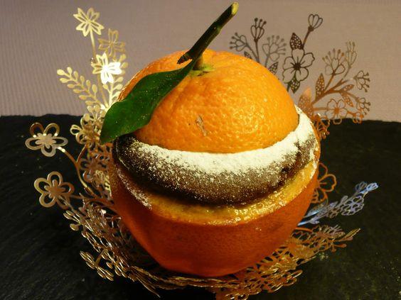 moelleux chocolat orange