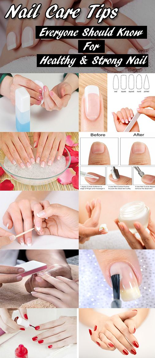 Tips For Growing Healthy Nails That You Need To Know In 2020 Natural Nail Care Nail Care Routine Nail Care Diy
