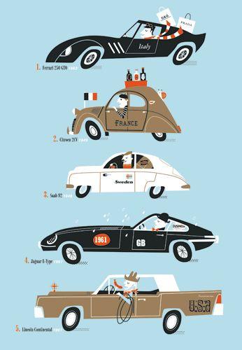 Car illustration  #inspiration  Torso Vertical Inspirations www.facebook.com/TorsoVerticalDesign  @Lord Avnish Panesar  www.torsovertical.com