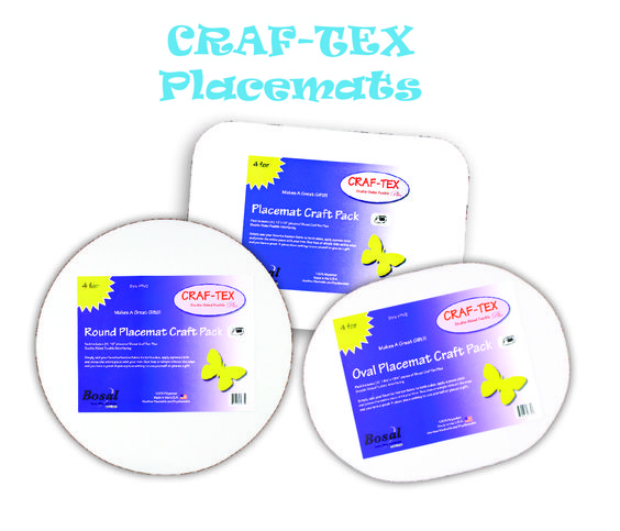 CRAF-TEX Placemats... so easy!