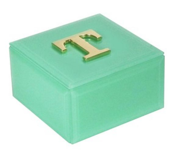 Initialed Jewelry Box