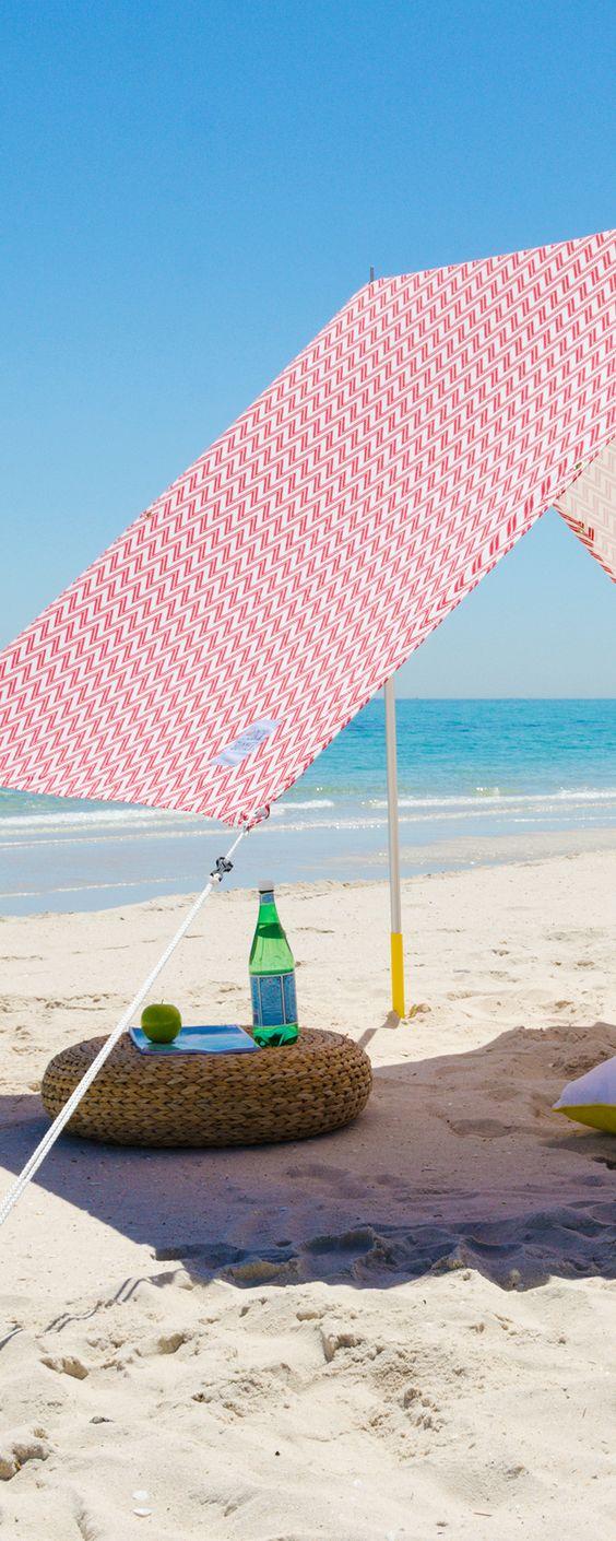 Love this pretty beach tent