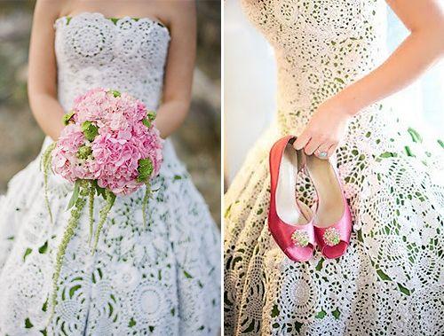 los vestidos de boda del tapetito