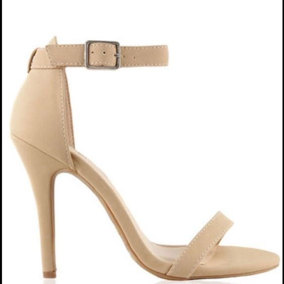 Lola Shoetique nude heels   Abs Shoes heels and Nude heels