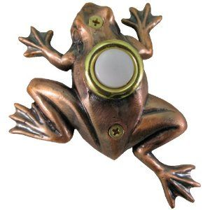 frog doorbell plate