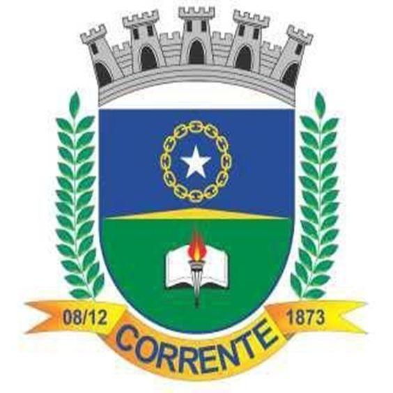 31/01/2016 - Corrente, PI, brasão: