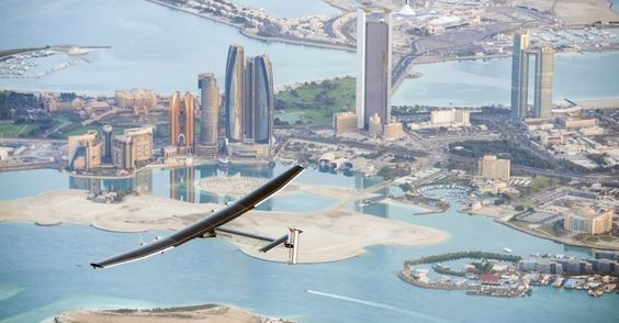 Avião Solar Impulse 2 dará a volta ao mundo sem usar uma gota de combustível - Fotos - Ciência