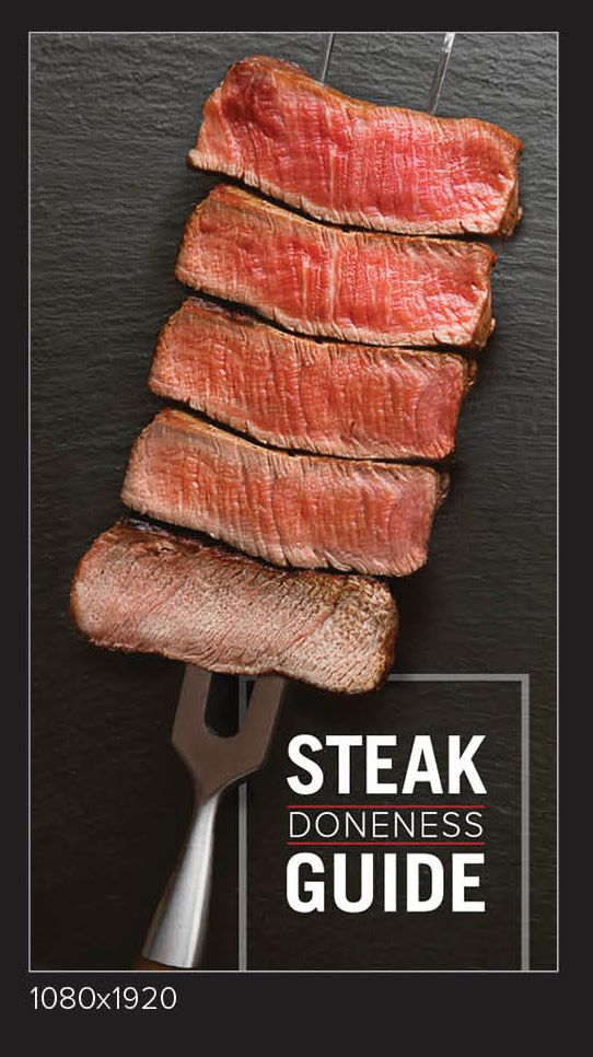 Steak Doneness Guide Temperature Charts Omaha Steaks In 2020 Cooking The Perfect Steak Cooking Perfect Steak