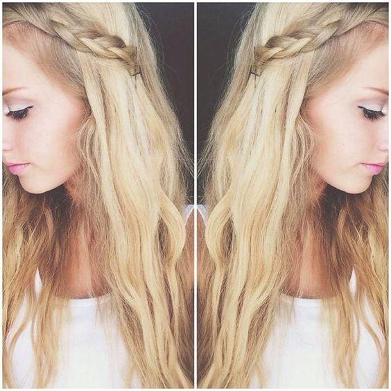 Peachy Wavy Hair Curly Hair And Braid Hair On Pinterest Short Hairstyles Gunalazisus