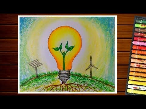 Save Energy Drawing Save Electricity Urja Bachao Drawing Youtube Save Electricity Poster Save Energy Paintings Energy Conservation Poster