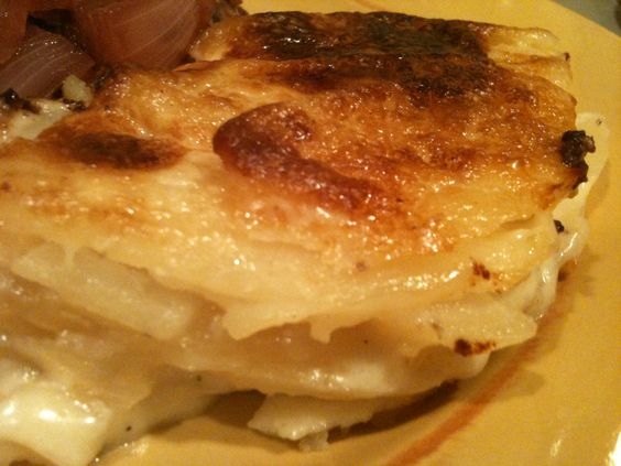 ... Potato Gratin with Goat Cheese and Garlic | Gratin, Goats and Goat