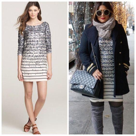 ✨HOST PICK✨ J. Crew Merino Confetti Sequin Dress - Pinterest ...