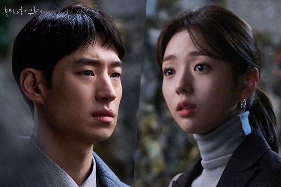 "Lee Je Hoon And Chae Soo Bin Are Locked In A Tight Embrace For ""Where Stars Land"""
