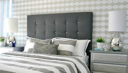 Diy Tufted Upholstered Headboard Tutorial Diy Headboard Upholstered Upholstered Headboard Bedroom Headboard