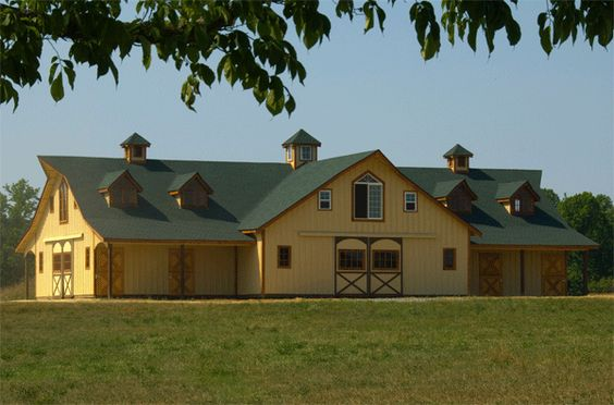 Barns Crowns And Plantation Style Homes On Pinterest