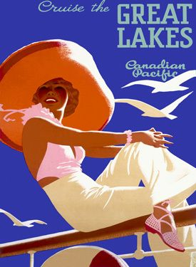 cp great lakes poster | vintage...retro...ads...signs | Pinterest ...