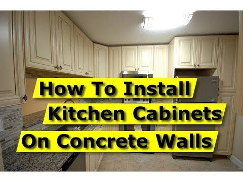 How To Hang Cabinets Installing Kitchen Cabinets Upper Cabinets Hanging Cabinet