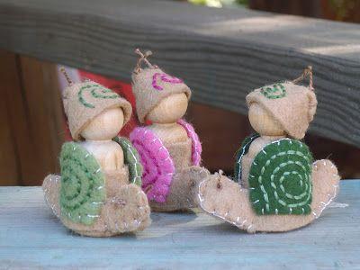 we bloom here: peg doll swaps :: photo gallery