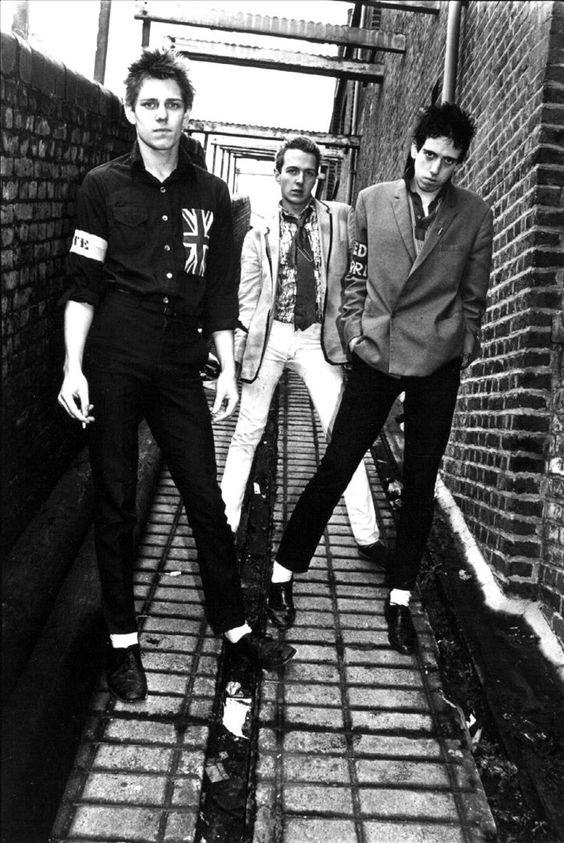 The Clash/ Punk/ 70's British Punk/ Main Music Band/ Punk Fashion/ British Flag