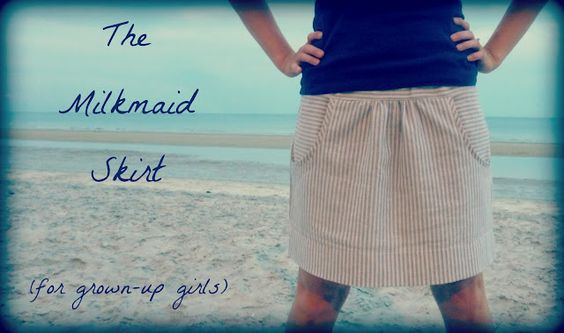 crafterhours: The Milkmaid Skirt for Grown-Up Girls: A Tutorial