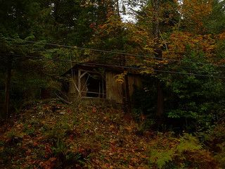 Abandoned cabin in B.C.