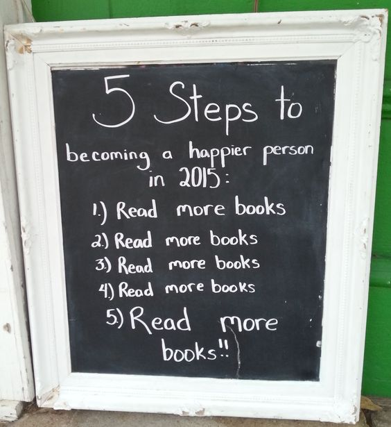 5 steps to becoming a happier person.  The Book Nook in Brenham, TX: