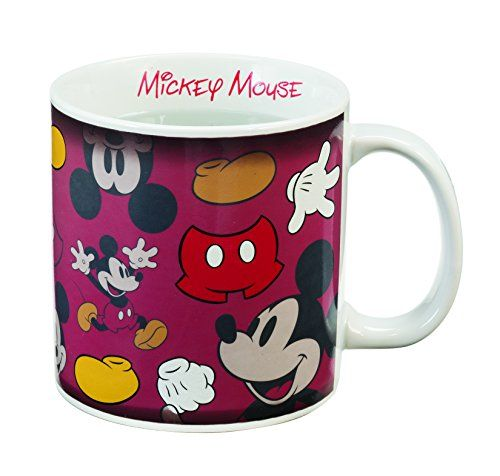 Disney Mickey Mouse 20 Oz. Heat Reactive Mug ** New and awesome product awaits you, Read it now : at Coffee and Stuff.