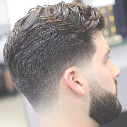 Low Taper Fade With Long Wavy Hair Wavy Hair Men Taper Fade Haircut Mens Haircuts Fade