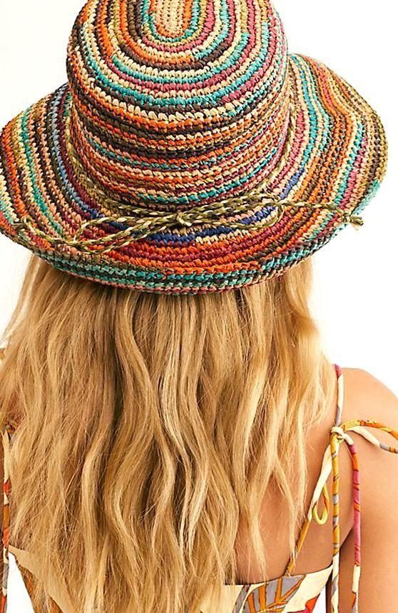 Sweet Pea Straw Hat Free People In 2020 Straw Hat Hippie Hat Elegant Hats