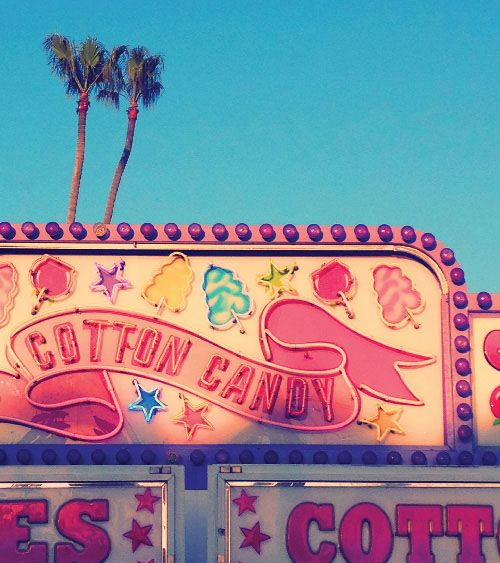 Cotton Candy Sign: Summer, Happy And Candy Colors On Pinterest