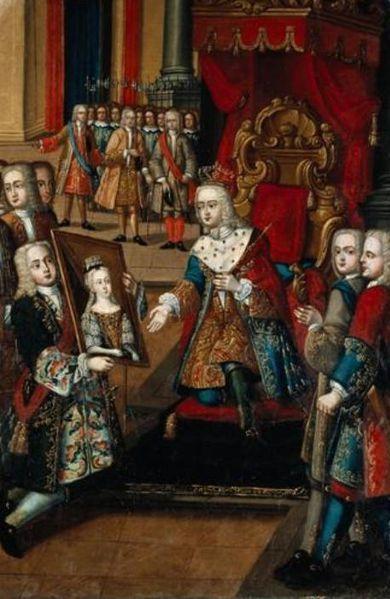 File:Oferta do retrato de Santa Joana ao rei francês - Manuel Ferreira e Sousa.jpg