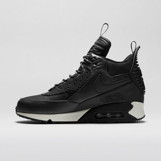 Nike Air Max 90 Sneakerboot Ice Dark Dune Black Barkroot Brown