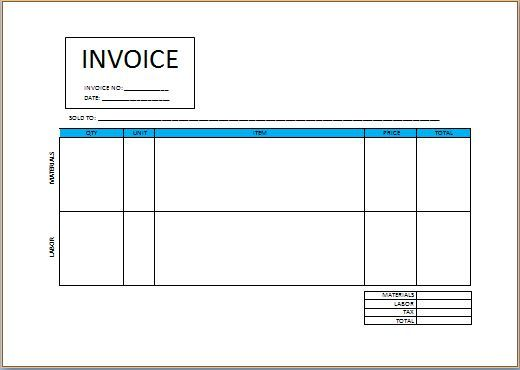 Independent Contractor Invoice Templates 19 Freelance Templates