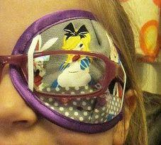 """Tutorial: DIY eye patch for """"lazy eye"""""""