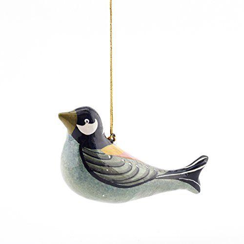 Painted Bird Decoration - Large £6.50