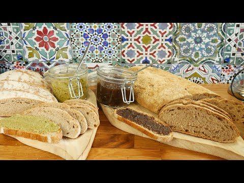 خبز الخميرة البلدية لطلبتو مني وصفتين مالحين لدهن خبز الصباح أو خبز السندويش Youtube Food Bread