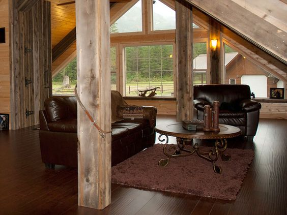 Barns window and spaces on pinterest for Shop with upstairs living quarters